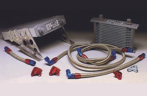 Ölkühler und Halterungen