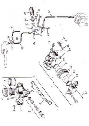 Reparatursätze für Scarab Bremszangen