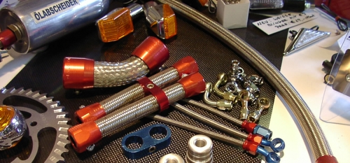 MASSARBEIT- Wir fertigen Öl- Benzin- und Bremsleitungen auf Mass