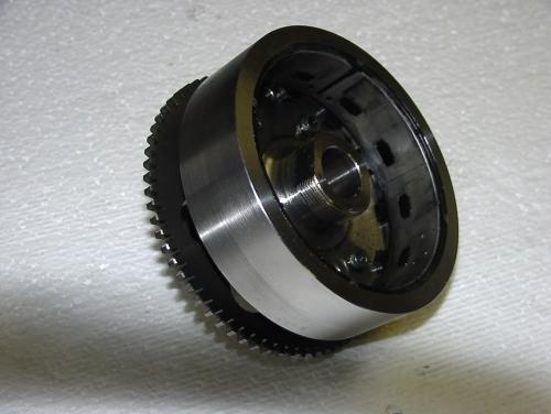 Kawasaki Z750/2007 Lichtmaschinenrotor mit Starter freilauf 140,-- gebraucht ,-- Topzustand