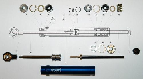 Lenkungsdämpfer Reparatur