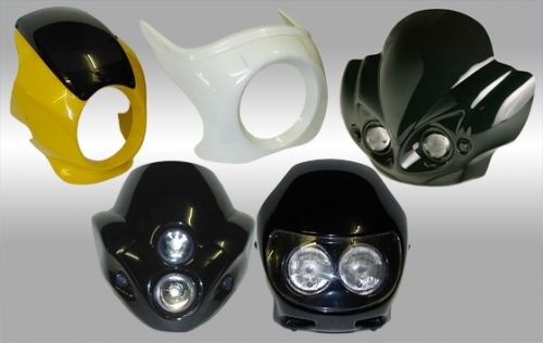 Masken in GFK und ABS